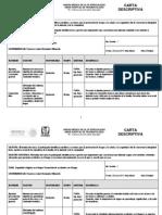 Carta Descriptiva Seguridad e Higuiene en El Hogar