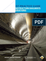 Best Practice Guide- Construction Railways Operations