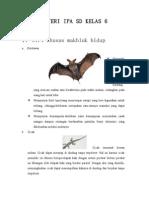 ciri khusus pada hewan dan tumbuhan.doc