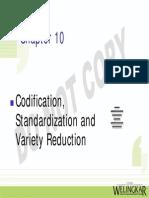 Ch 10 Codification