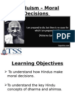 Hindusim - Moral Decisions