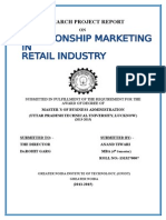 Research Report in Marketing