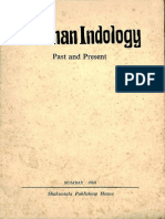 German Indology Past and Present 1969