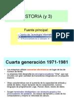 3 Cuarta y Quinta Generación de Ordenadores. Ppt