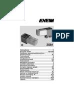 EHEIM Automatic Feeder 3581 Manual