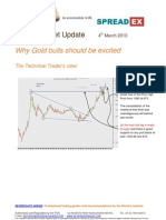 Spreadex - Why Gold bulls should be excited