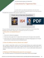 164 Java Interview Questions by Nageswara Rao _ JAVAbyNATARAJ (1)