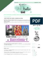 100 Cose Da Fare a Barcellona