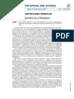 RD 995-2013 Regulación Programa Estatal de Seguridad Operacional