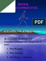 Sistem Muskuloskeletal . Faal .Dr Sony