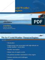 The Ice Crystal Weather Threat to Engines