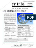 Layher Info Clampable Rosette