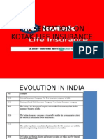 Presentation on Kotak Life Insurance