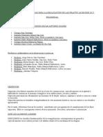 Instituciones Asociadas Para La Realización de Las Practic as en Egb III y