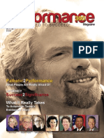 Professional Performance Magazine P360 Richard Branson Vol 21, No. 3