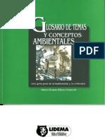 Glosario de Temas y Conceptos Ambientales-Una guía para la actualización y la refelxión