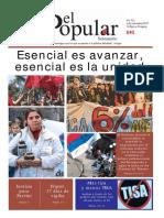 El Popular 322 Órgano de Prensa Oficial del Partido Comunista de Uruguay.