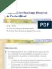 Distribuciones Discretas de Probabiliidad