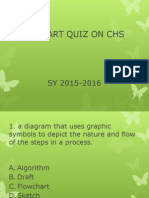 Quiz on Basic Flowcharting on Chs