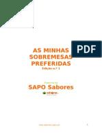 Livro de Receitas_SOBREMESAS_Sapo Sabores
