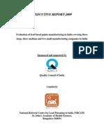 Evaluation of Leadexecutivereportpart