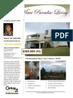 Kula Maui Listing PDF