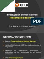 Presentacion Investigacion de Operaciones