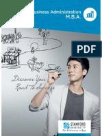 MBA Brochure 2014