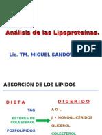Analisis de Lipoproteinas