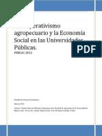 El Cooperativismo Agropecuario y la ESS en Las Universidades Pblicas