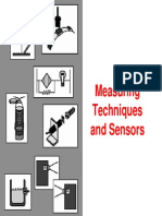 Measuring Techniques and Sensors 1