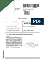 Elemento de soporte y protección de dispositivos de aprovechamiento solares