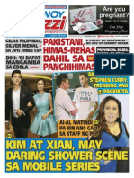 Pinoy Parazzi Vol 8 Issue 109 September 07 - 08, 2015