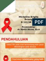 REFLEKSI KASUS Tatalaksana Hiv Aids Pada Anak - Micheline
