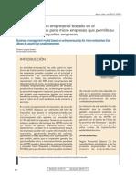 Modelo de Gestion Empresarial Basado en El Emprendedorismo Para Micro Empresas Que Permita Su Ascenso Como Pequeñas Empresas