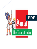 Amul Project Report