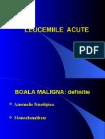 Curs 6. Leucemii Acute