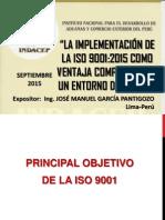 LA IMPLEMENTACIÓN DE LA ISO 9001:2015 COMO VENTAJA COMPETITIVA EN UN ENTORNO DE CAMBIO