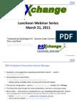 DSXchange - SCCS Presentation