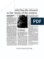 1992 Interview with Sun Ra
