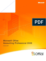 Accounting Professional 2008 Product Guide