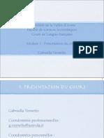 Université de La Vallée d'Aoste Faculté De