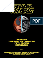 Star Wars - D&D 5th Edition Conversion