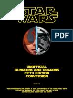 Star Wars - D&D 5th Edition Conversion