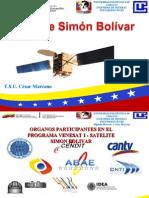 diapositivas satelites simon bolivar exposicion