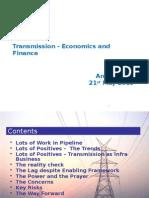 Transmission Economics & Finance