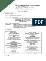 Final Conference Program (Bucharest 2015)