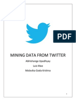 Data Mining Twitter From Indo