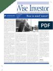 The Wise Investor March 2010 Sundaram BNP Paribas Asset Management