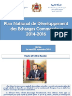 plan de development du commerce exterieur
